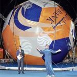 直径12m!? 世界最大のサッカーボール ギネス記録