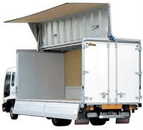 中型トラック 荷台