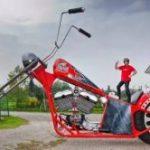 高さ5m!? 世界最大のバイク ギネス認定
