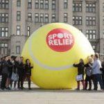 直径4m!? 世界最大のテニスボール