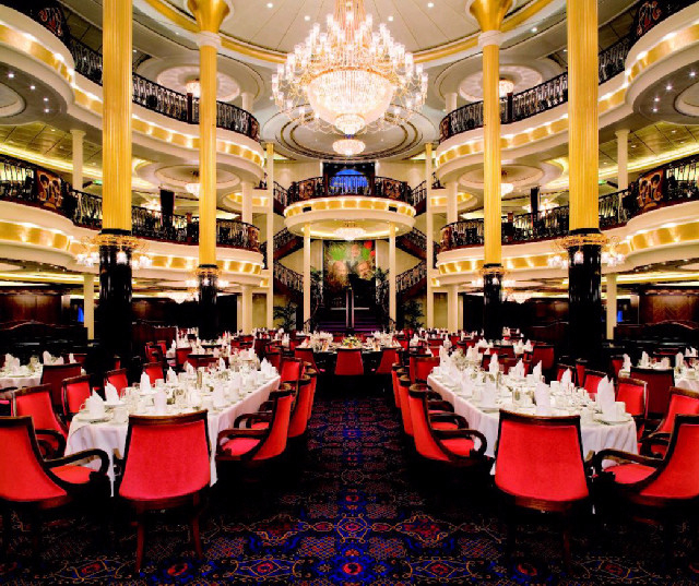 引用 : http://cruisewithlori.typepad.com/cruise_with_lori/2009/11/oasis-of-the-seas-dining-options.html