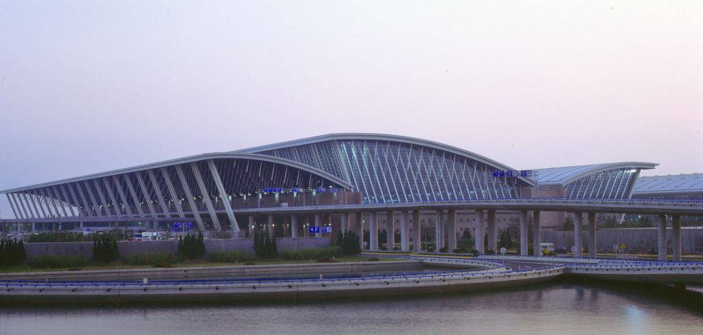 引用 : http://www.archdaily.com/403804/shanghai-pudong-international-airport-paul-andreu