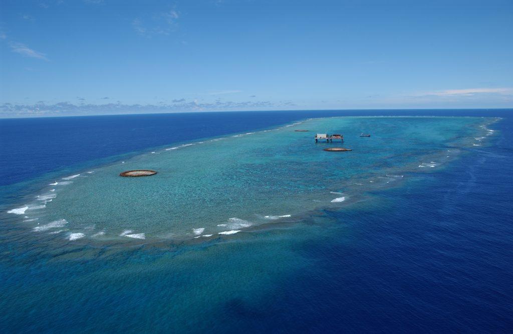 世界最小の島 沖ノ鳥島2