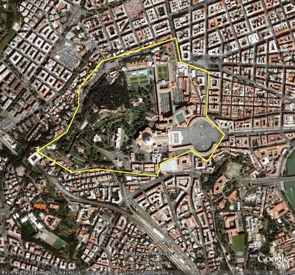 世界最小の国 バチカン市国3