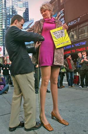 世界最長の脚3