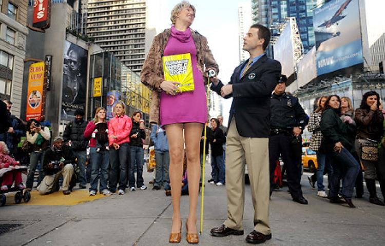 世界最長の脚2