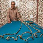 長さ9m!? 世界一爪が長い人とは? ギネス記録