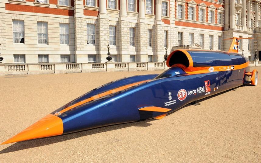 世界一速い車 ブラックハウンド1