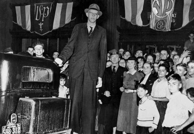 世界で一番身長が長い人7