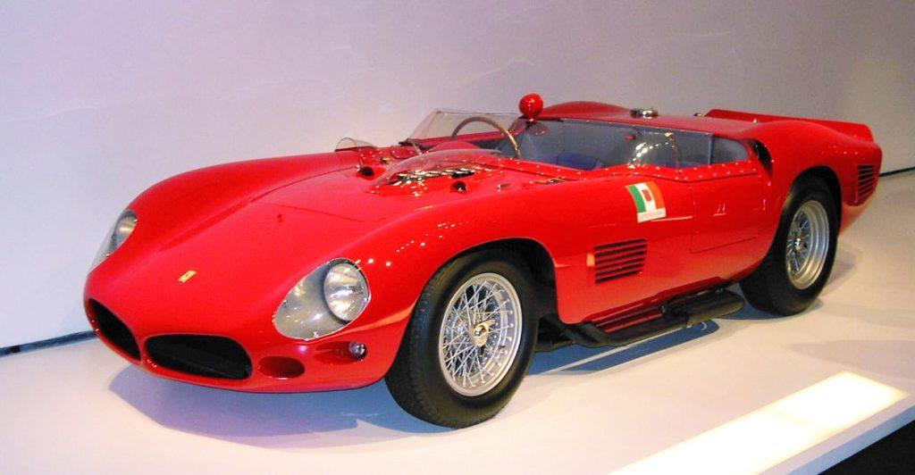 1958年型フェラーリ250テスタロッサ