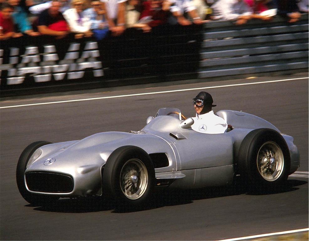 1954年型メルセデス・ベンツW196Rシルバー・アロー