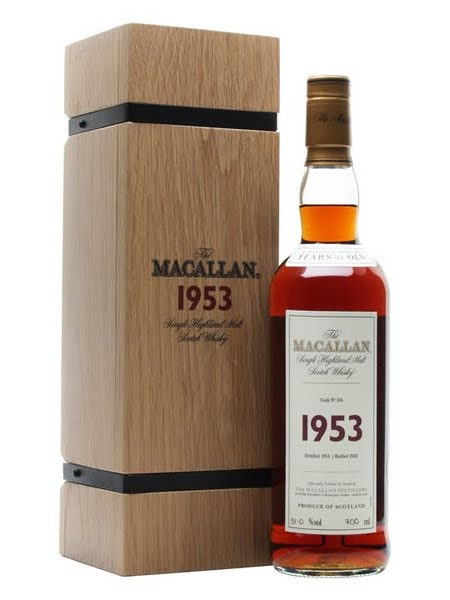 The Macallan Fine & Rare Vintage Single Malt Scotch Whisky,